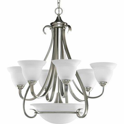 Torino 6-Light Shaded Chandelier