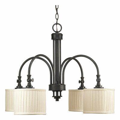 Clayton 4-Light Drum Chandelier