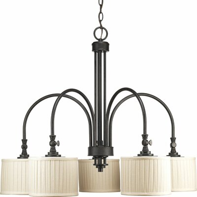 Clayton 5-Light Drum Chandelier