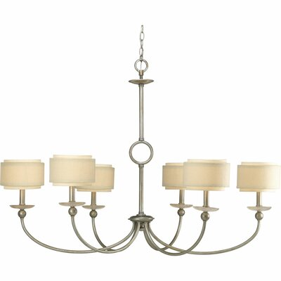 Ashbury 6-Light Shaded Chandelier