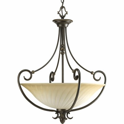 Kensington 3-Light Inverted Pendant