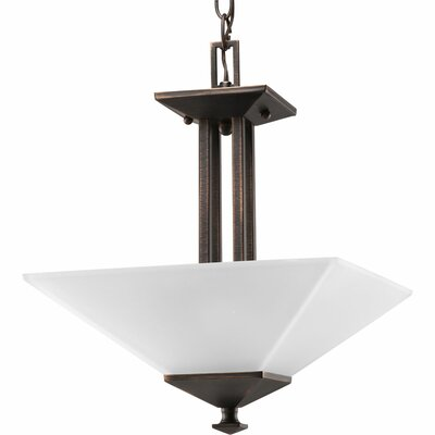 Chickamauga 2-Light Bowl Pendant