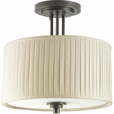 Cooley 2-Light Semi Flush Mount