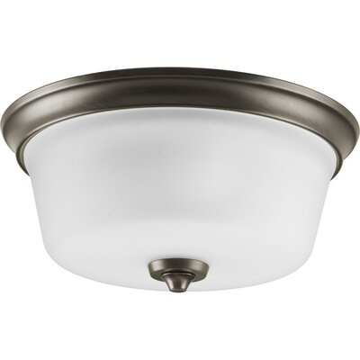 Lahara 2-Light Flush Mount Finish: Venetian Bronze
