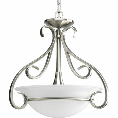 Lilly Contemporary 3-Light Inverted Pendant