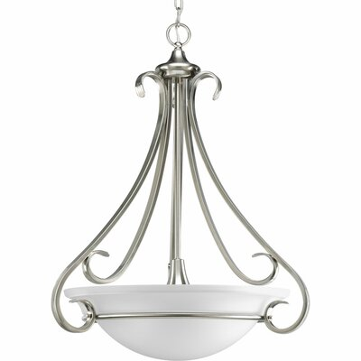 Torino 3-Light Inverted Pendant