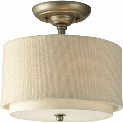 Ashbury 2-Light Semi Flush Mount