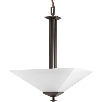 Chickamauga 2-Light Inverted Pendant in Venetian Bronze