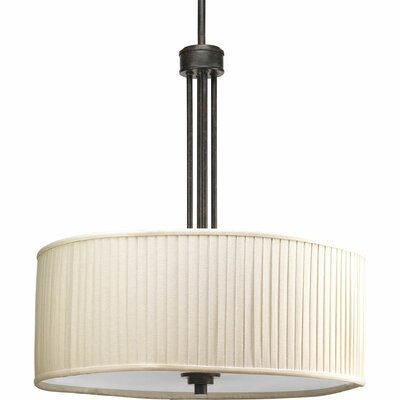 Clayton 3-Light Drum Pendant