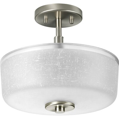 Burch 2-Light Semi Flush Mount