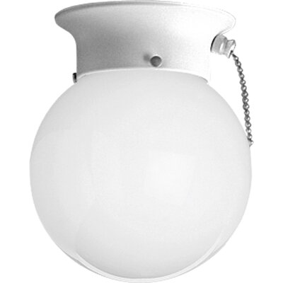 Boehmer 1-Light Flush Mount