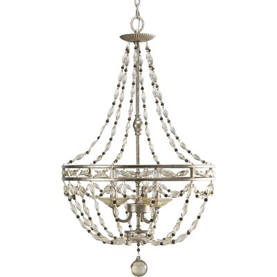 Chanelle 3 Light Foyer Pendant