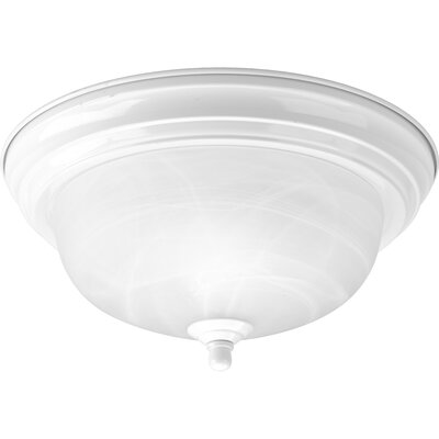 Micadeau 1-Light Metal Semi Flush Mount