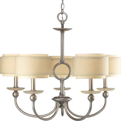 Frieda 5-Light Shaded Chandelier
