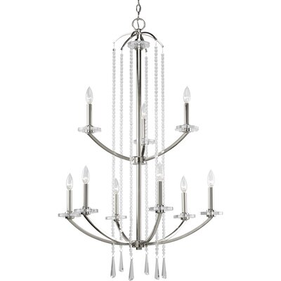 Renee 9-Light Candle-Style Chandelier