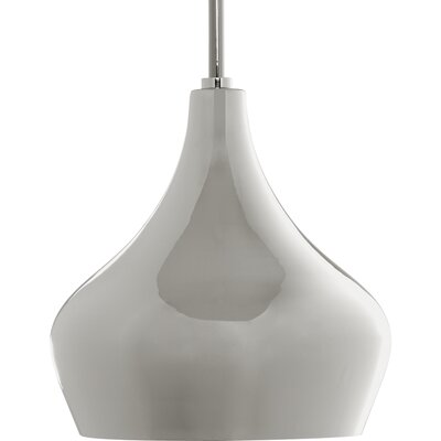Chevell 1-Light Mini Pendant Finish: Polished Nickel