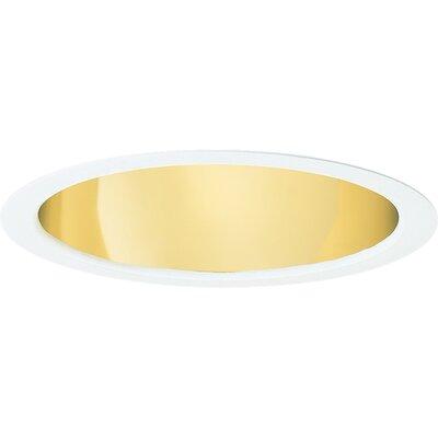 Open Downlight 5.75 Recessed Trim Finish: Gold Alzak