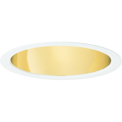 Open Downlight Cone 7.75 Recessed Trim Finish: Gold Alzak
