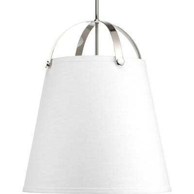 Queenie 3-Light Inverted Pendant Finish: Polished Nickel