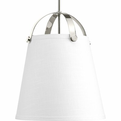 Queenie 2-Light Inverted Pendant Finish: Polished Nickel