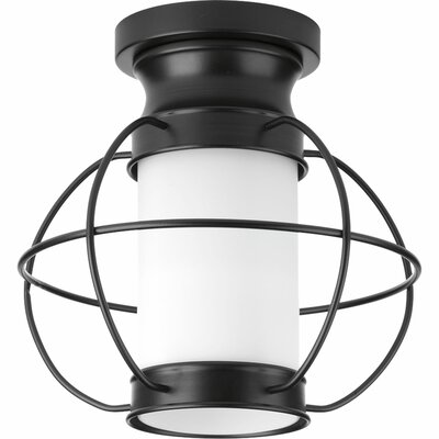 Nayeli 1-Light Semi-Flush Mount