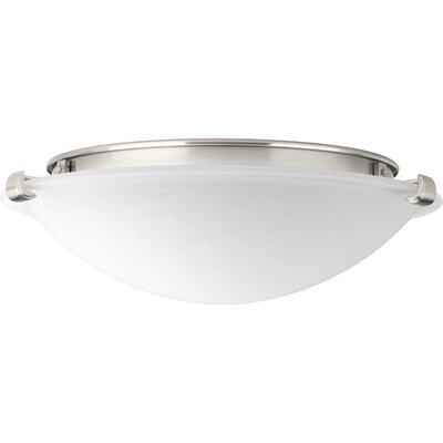 Kerri 1-Light LED Flush Mount Size: 4.25 H x 12 W x 12 D