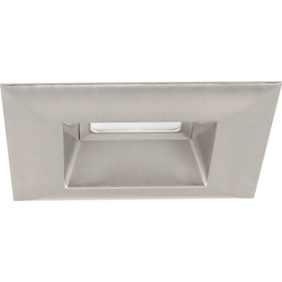 5 LED Square Recessed Trim Finish: Brushed Nickel