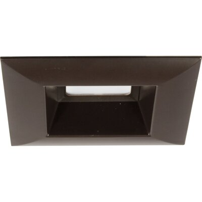 5 LED Square Recessed Trim Finish: Antique Bronze