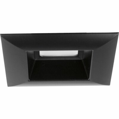 5 LED Square Recessed Trim Finish: Black