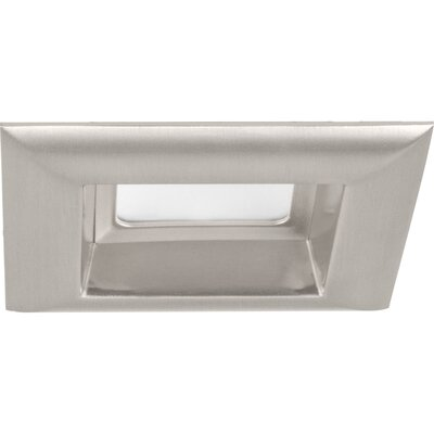 4 LED Square Recessed Trim Finish: Brushed Nickel