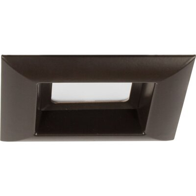 4 LED Square Recessed Trim Finish: Antique Bronze
