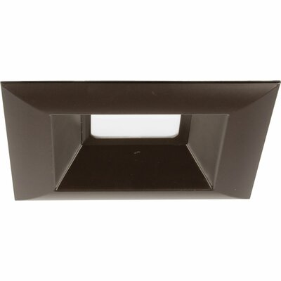 6 LED Square Recessed Trim Finish: Antique Bronze
