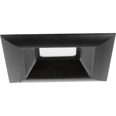 6 LED Square Recessed Trim Finish: Black