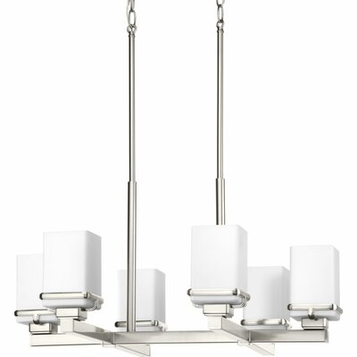 Chen 6-Light Chandelier Finish: Brushed Nickel