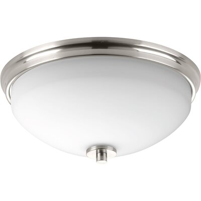 Knouse 2-Light Flush Mount Finish: Brushed Nickel