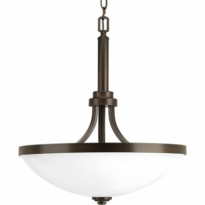 Dolla 3-Light Bowl Pendant Finish: Antique Bronze