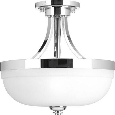 Dolla 1-Light Semi Flush Mount Finish: Polished Chrome