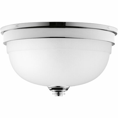 Dolla 2-Light Flush Mount Finish: Polished Chrome