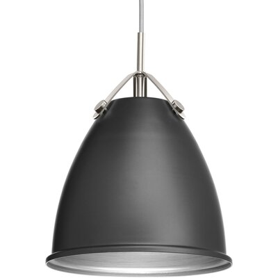 Cherrelle 1-Light Inverted Pendant Finish: Graphite, Size: 13.25 H x 10 W x 10 D