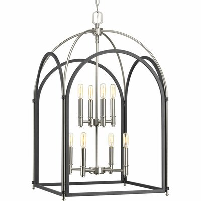 Mcdonagh 8-Light Foyer Pendant Finish: Graphite