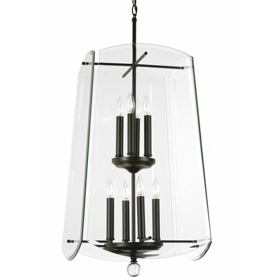 Ornella 8-Light Foyer/Lantern pendant