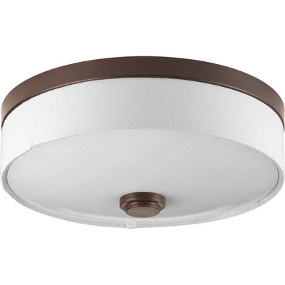 Gaurav 1-Light Flush Mount Finish: Antique Bronze