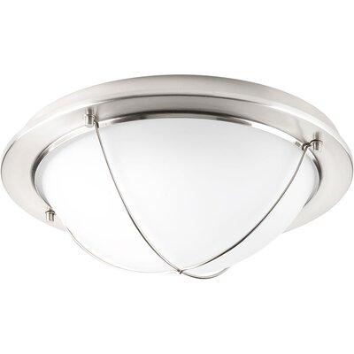 Nitesh Modern 1-Light Flush Mount Finish: Brushed Nickel