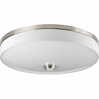 Gaurav 2-Light Flush Mount Finish: Brushed Nickel