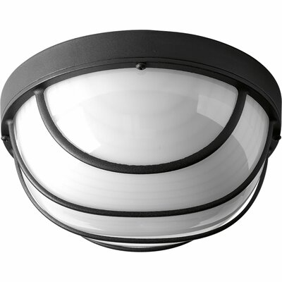 Krystn 1-Light LED Flush Mount Finish: Black