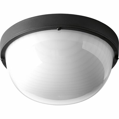 Bulkheads 1-Light Flush Mount Finish: Black