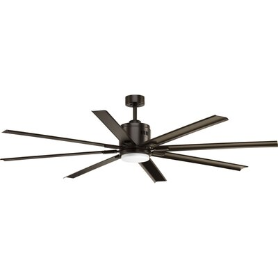 72 Bankston 8 Blade LED Ceiling Fan with Remote Finish: Antique Bronze
