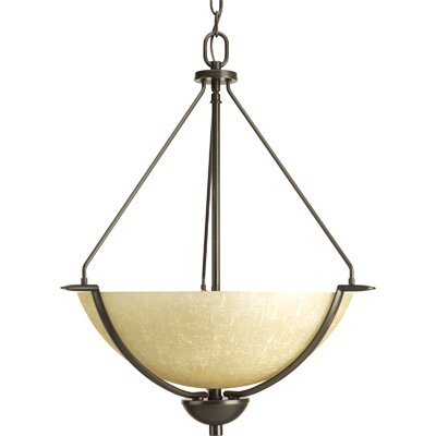 Bravo 3-Light Inverted Pendant Finish: Antique Bronze