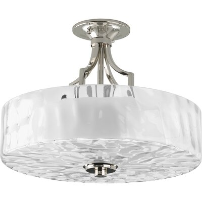 Caress 2-Light Semi Flush Mount
