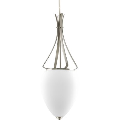 Teodora Contemporary 3-Light Hall and Foyer Pendant Finish: Brushed Nickel